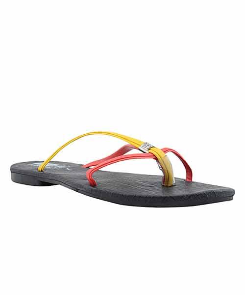 Yepme Red & Yellow Sandals