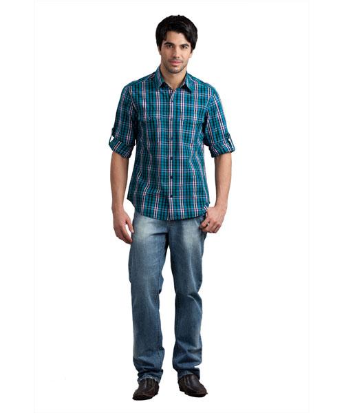 Yepme Regular Fit Light Blue Jeans
