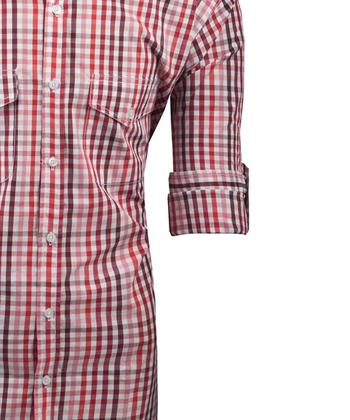 Yepme Red Check Shirt