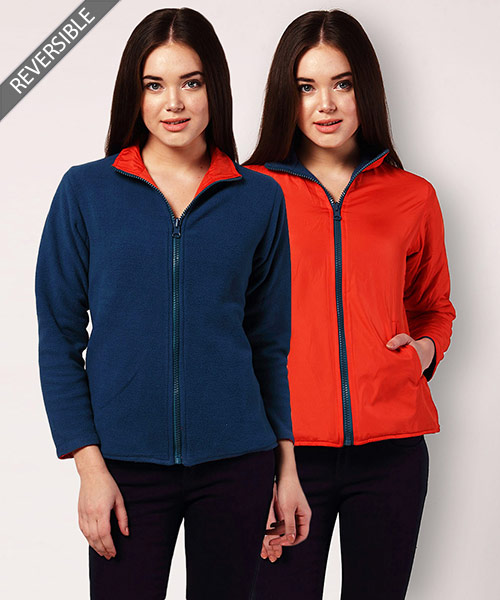 Yepme Alena Reversible Jacket - Orange & Blue