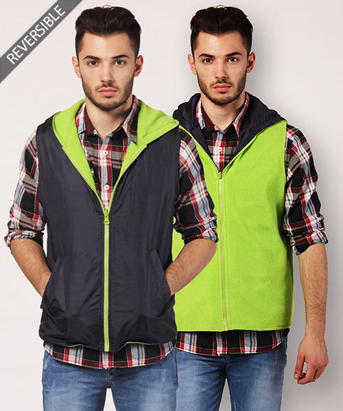 Yepme Gonzalo Reversible Jacket - Blue & Green