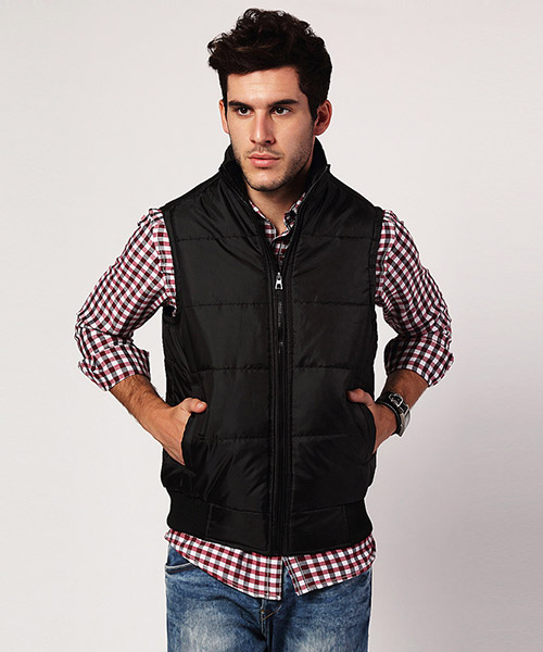 Yepme Jacob Sleeveless Jacket - Black
