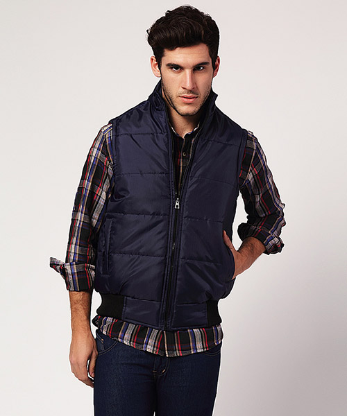 Yepme Jacob Sleeveless Jacket - Blue