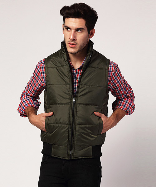 Yepme Jacob Sleeveless Jacket - Green