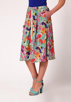 Midi Skirts - Buy Online Midi Skirts for girls and Women