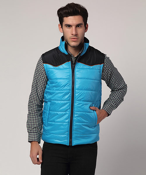 Yepme Ethan Sleeveless Jacket - Blue