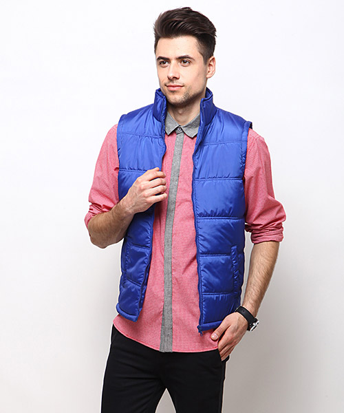 Yepme Barrett Sleeveless Jacket - Royal Blue