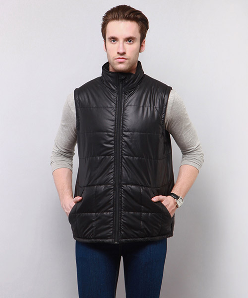 Yepme Barrett Sleeveless Jacket - Black