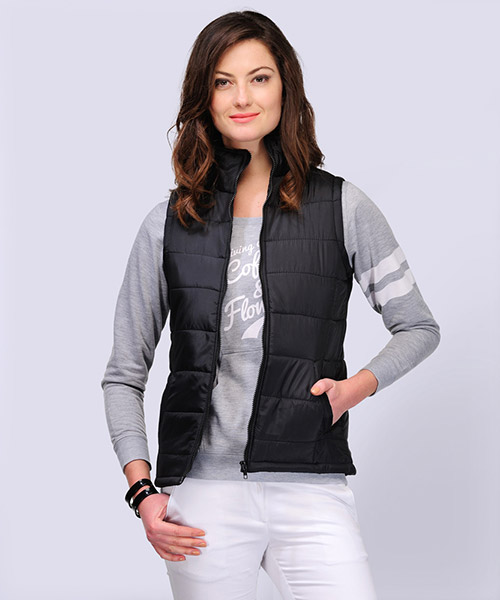 Yepme Agens Sleeveless Jacket - Black