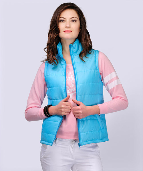 Yepme Agens Sleeveless Jacket - Blue