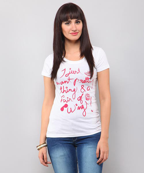 5123b56f547 Women's Graphic Tees - Shop Graphic T-Shirts for Women Online