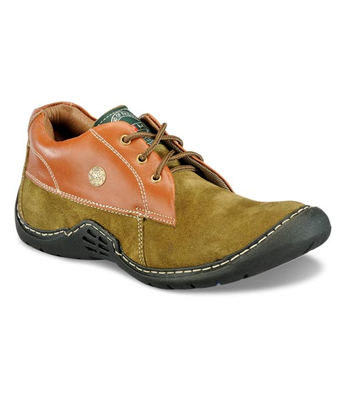 Yepme Premium Casual Shoes - Olive Green