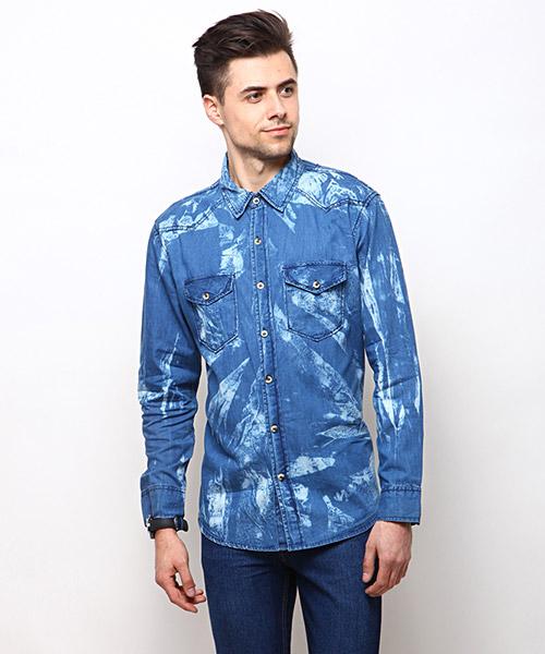 Yepme Keith Denim Shirt - Medium Wash