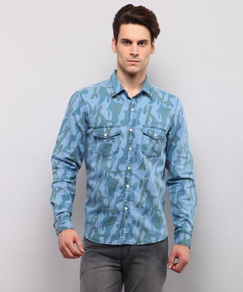 e9ef18065d4 Denim Shirts - Buy Denim Shirts for Men Online in India at Yepme