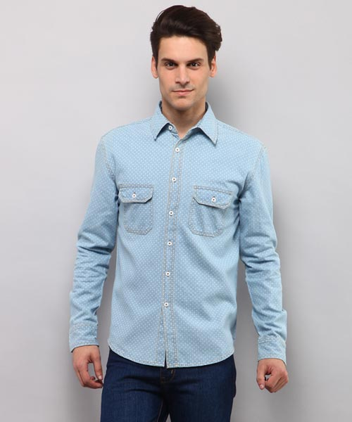 943bfb97c17 Denim Shirts - Buy Denim Shirts for Men Online in India at Yepme
