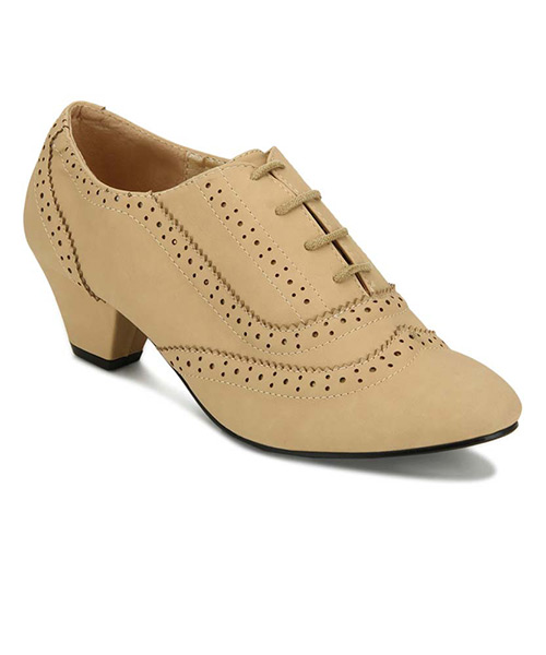 Yepme Ankle-Length Khaki Boots