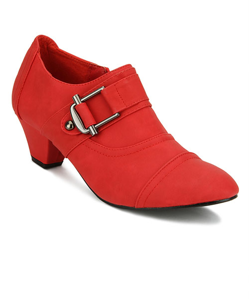 Yepme Ankle-Length Red Boots