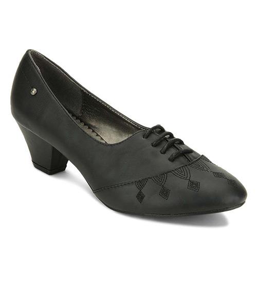 Yepme Lace-Up Black Boots
