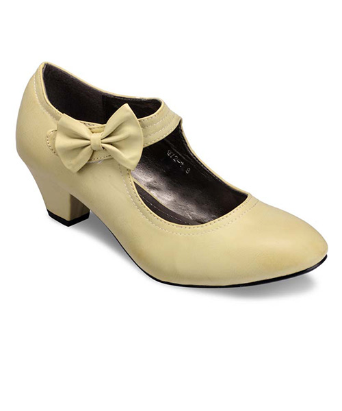 Yepme Bow Beige Boots