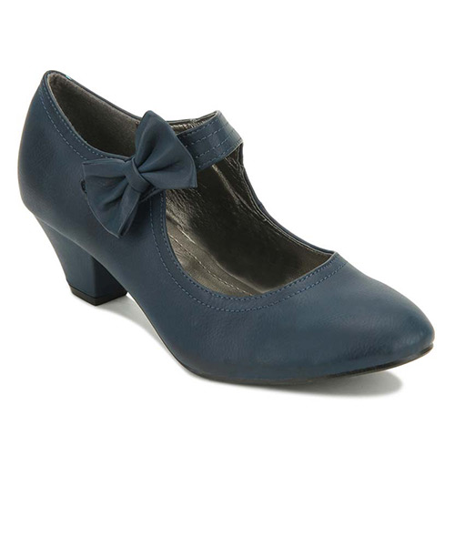 Yepme Bow Blue Boots
