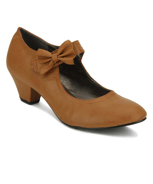 Yepme Bow Brown Boots