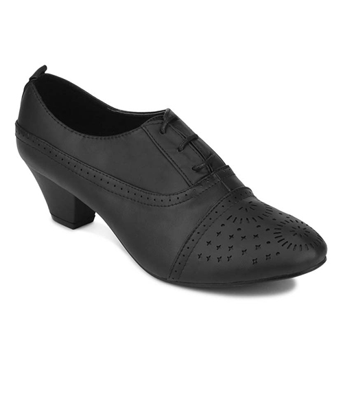 Yepme Ankle-Length Black Boots