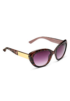 Yepme Cat-Eye Sunglasses - Brown & Purple
