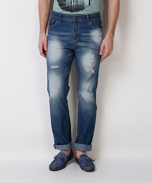 Yepme Hubert Premium Denim - Medium Wash
