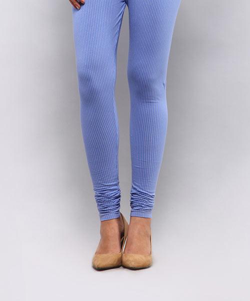 Yepme Alexis Stripes Leggings - Blue