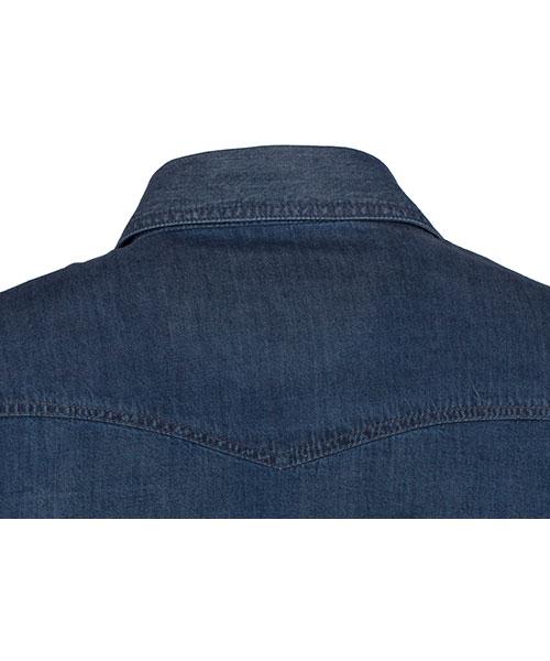 Yepme Classic Blue Denim Shirt