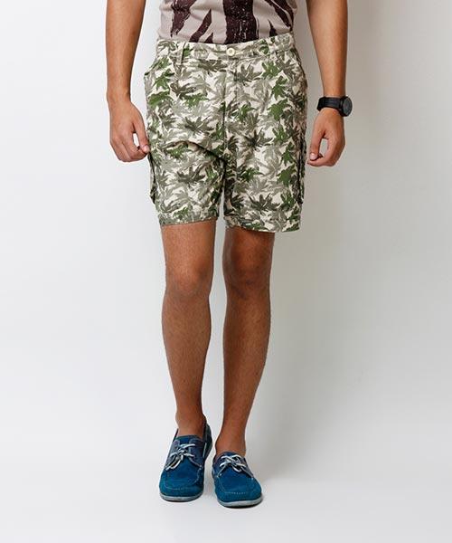 Yepme Jeryl Printed Shorts - Green