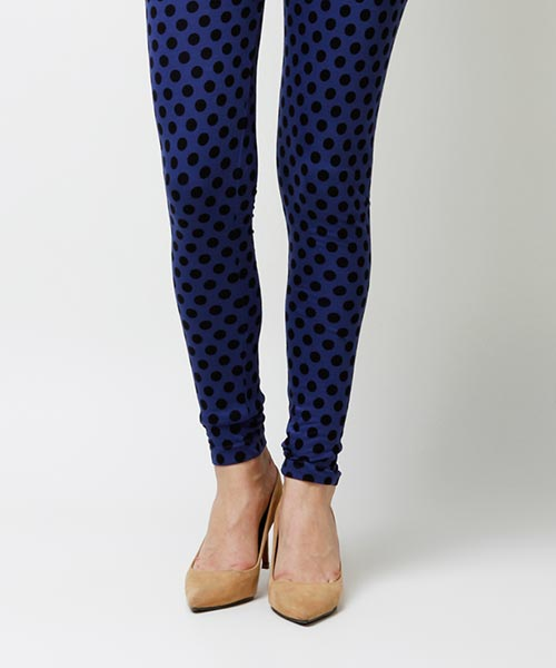 Yepme Olivia Printed Leggings - Blue