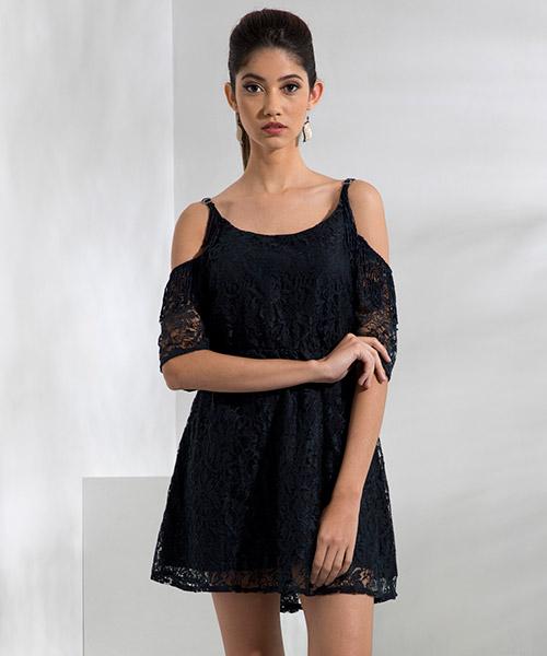 Yepme Eliza Lace Dress - Blue