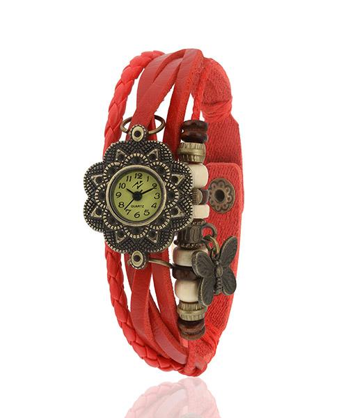 Yepme Women's Bracelet Watch - Red