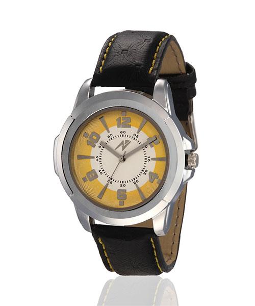 Yepme Clisp Men's Watch - Yellow/Black