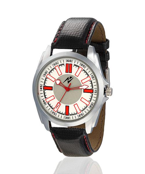 Yepme Olor Men's Watch - White/Black