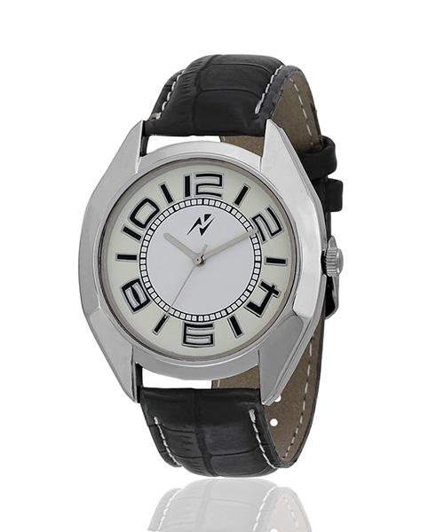 Yepme Ploz Men's Watch - White/Black