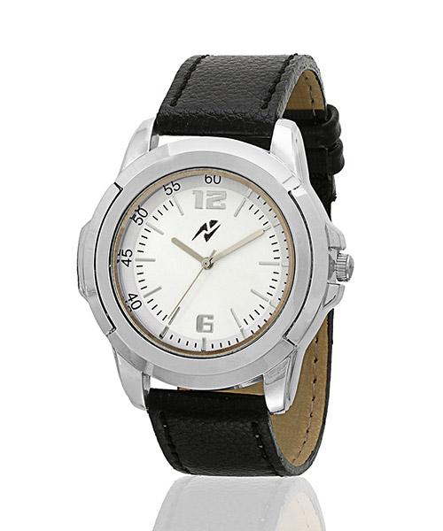 Yepme Men's Analog Watch - White/Black