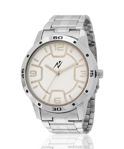 Yepme Damon Men's Watch - White/Silver